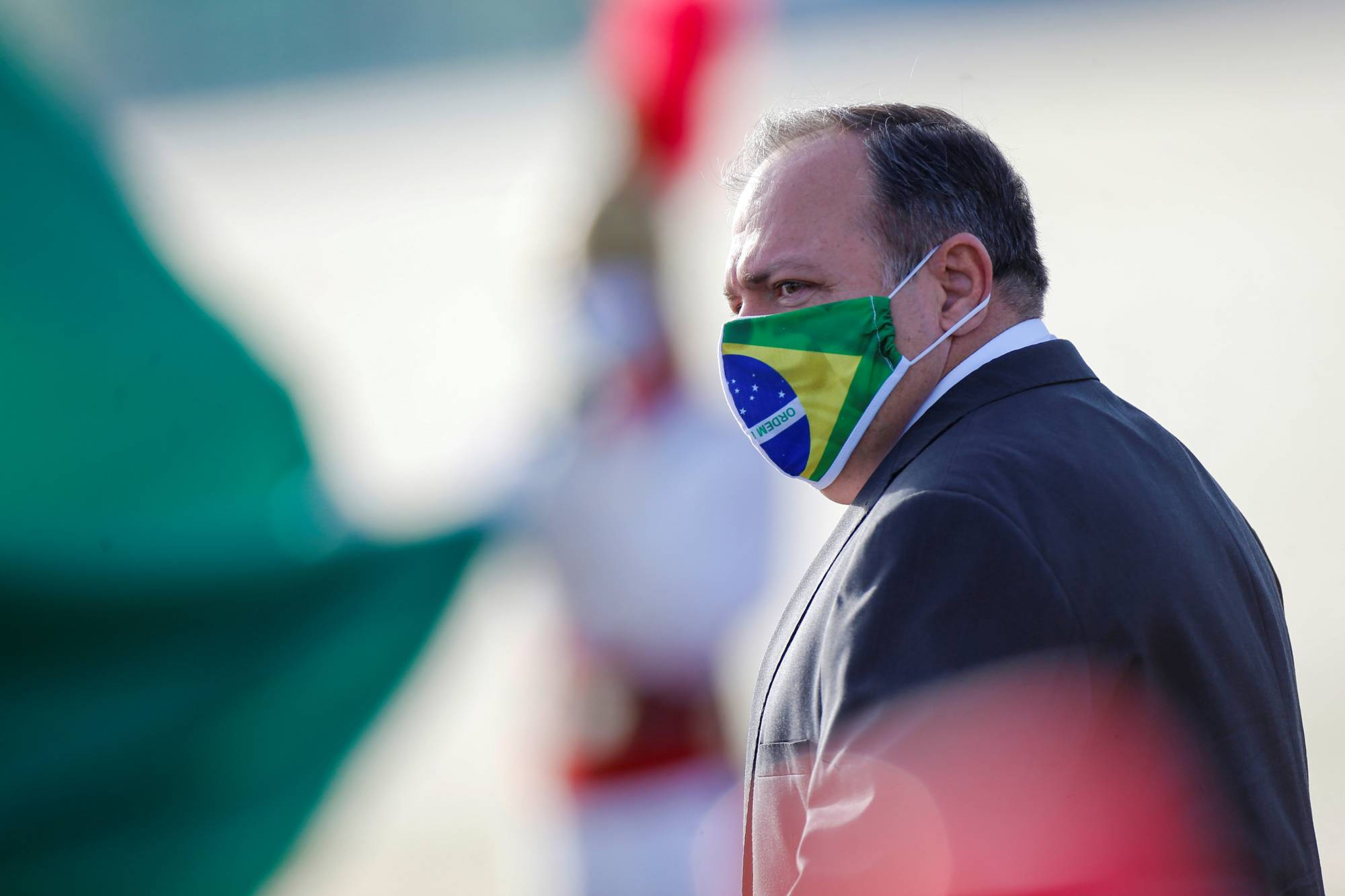 Eduardo Pazuello, an active-duty army general, took over as Brazil's health minister on May 15. | REUTERS