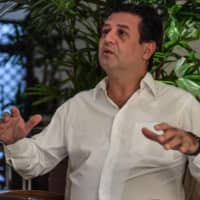 Former Brazilian Health Minister Luiz Henrique Mandetta said Bolsonaro's drumbeat of support for unproven drugs had hampered efforts to impose stay-at-home measures and slow the spread of COVID-19.  | AFP-JIJI