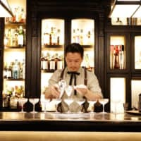 Welcome aboard SG Airways, Shingo Gokan's cocktail-pairing pop-up