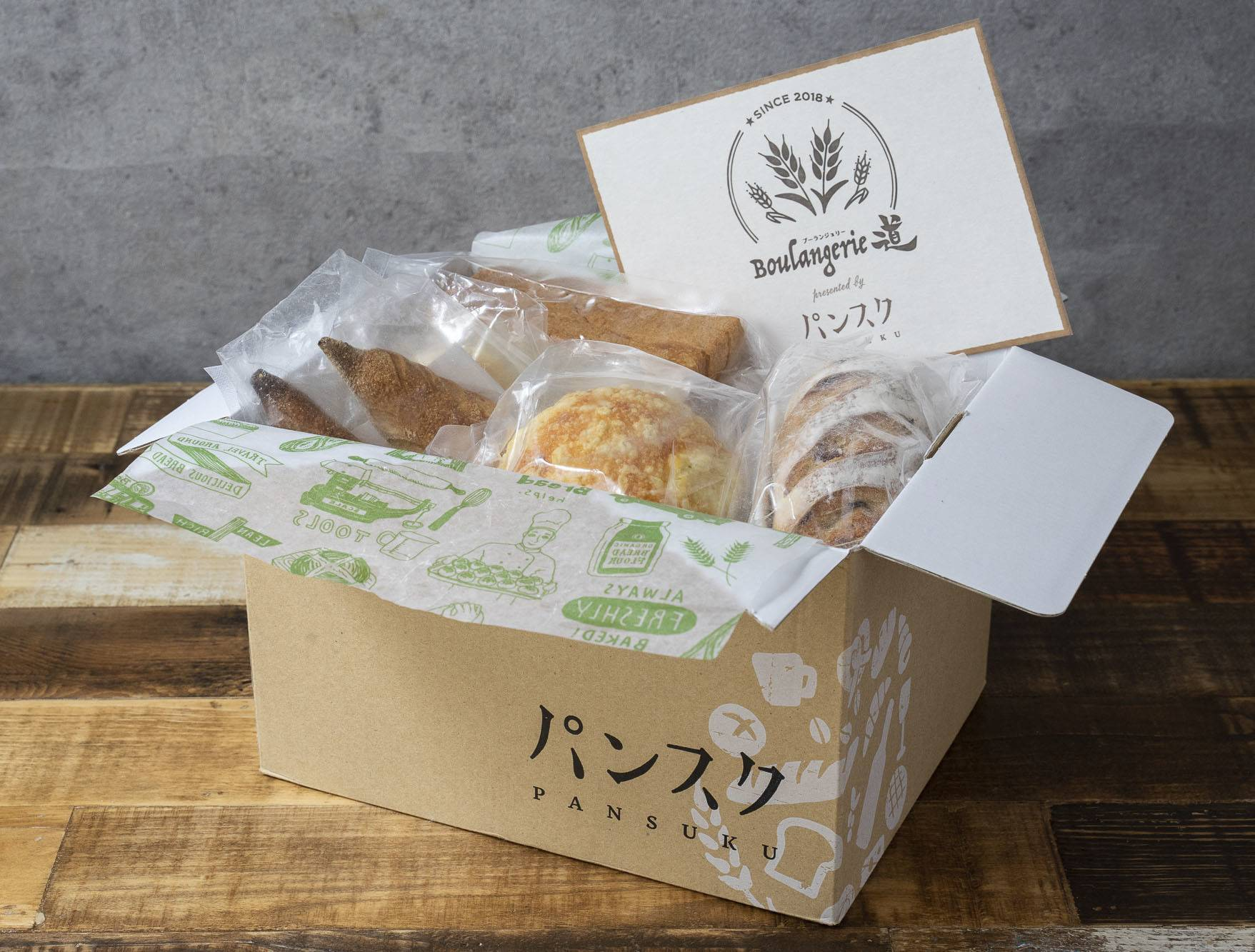 Yuabread has developed a freezing technique to preserve the taste and flavor of freshly baked bread for delivery to both corporate and individual clients. | YUABREAD INC. / VIA KYODO