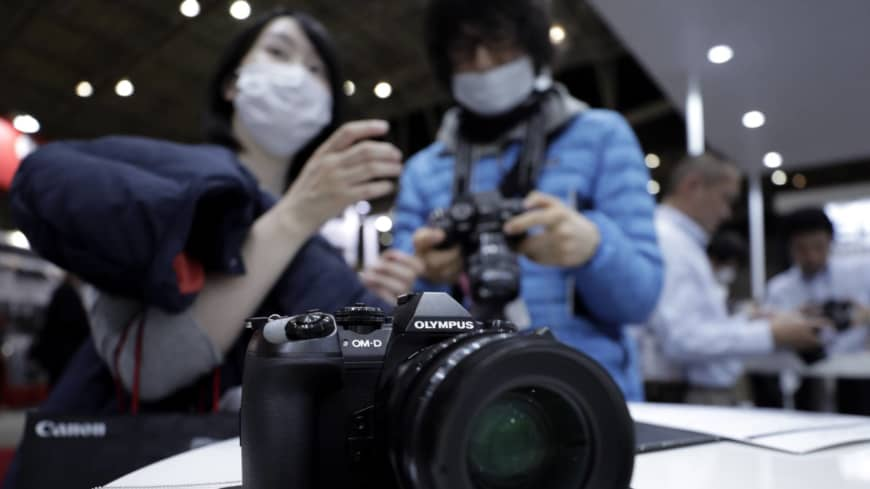 Writing was on wall for Olympus cameras as photographers switch to phones