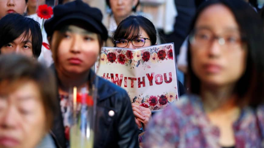 Fight against sexual abuse in Japan gains strength