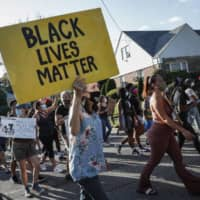 U.S. President Donald Trump said Tuesday more white people die at the hands of police than Black people, comments likely to further stoke racial tensions amid nationwide protests over racism and police brutality. | AP
