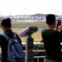 The Kadena Air Base serves as the de facto gateway for all U.S. personnel flying into Okinawa via military air. | REUTERS