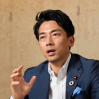 Environmental Minister Shinjiro Koizumi has stated he wants Japan, the world's fifth-biggest emitter, to aim for deeper cuts as part of its participation in the 2015 Paris climate accord. | BLOOMBERG