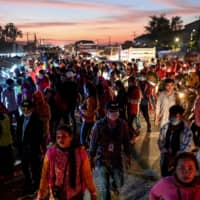 Asia's garment workers say coronavirus used as a cover to smash unions
