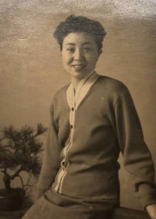 By the time Michiko Yoshitsuka was 20, she was married and had already given birth to one child, who died shortly after being born. | COURTESY OF COLIN INNES