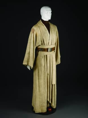 Obi-Wan Kenobi's robes in the 'Star Wars' series were inspired by the kimono. | COURTESY OF LUCASFILM LTD.