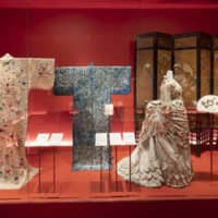 The 'Kimono: Kyoto to Catwalk' exhibition at the V&A Museum in London brings together garments from the Edo Period (1603-1868) through to modern pop-culture pieces.    COURTESY OF V&A MUSEUM