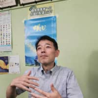 Naoki Kurano, director of  the Japanese Federation of the Deaf, says Japan lags behind other countries in providing sign language interpretation for important events on television.   | COURTESY OF JAPANESE FEDERATION OF THE DEAF