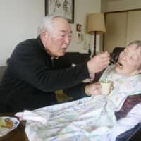 Share of older people living with older caregivers hits record in Japan