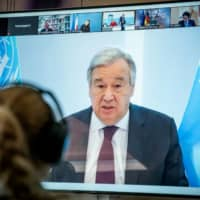 In late June, United Nations Secretary-General Antonio Guterres warned that 'there is total lack of coordination among countries' in managing the economic impact of the COVID-19 pandemic. | REUTERS