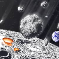 Massive meteor shower hit Earth and moon 800 million years ago, study says