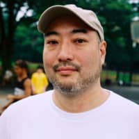 Save the courts: Jiro Ikeda has formed a group to help save the Yoyogi Park basketball courts. | DAN BUYANOVSKY