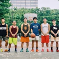 Basketball meritocracy: Those who play ball at the Yoyogi Park basketball courts must wait their turn to join the game. | DAN BUYANOVSKY