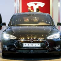Sales figures for Tesla's Model S outstripped those for the Mercedes S-Class globally in 2017. | REUTERS / FILE PHOTO