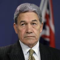 New Zealand Foreign Minister Winston Peters announced Tuesday that the country will follow the lead of its intelligence allies by suspending its extradition treaty with Hong Kong.  | AP