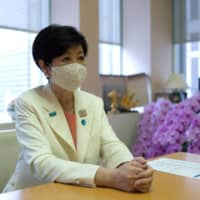 In an interview with The Japan Times on Wednesday, Tokyo Gov. Yuriko Koike said that the central government needs to clarify the legal powers and financial resources that local authorities have in their fight against the coronavirus. | RYUSEI TAKAHASHI
