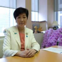 In an interview with The Japan Times on Wednesday, Tokyo Gov. Yuriko Koike said the New Influenza Special Measures Act needs to be revised and tailored to the novel coronavirus in a way that would give municipal leaders the authority to enforce mandatory virus countermeasures, rather than limiting them to making voluntary requests. | RYUSEI TAKAHASHI