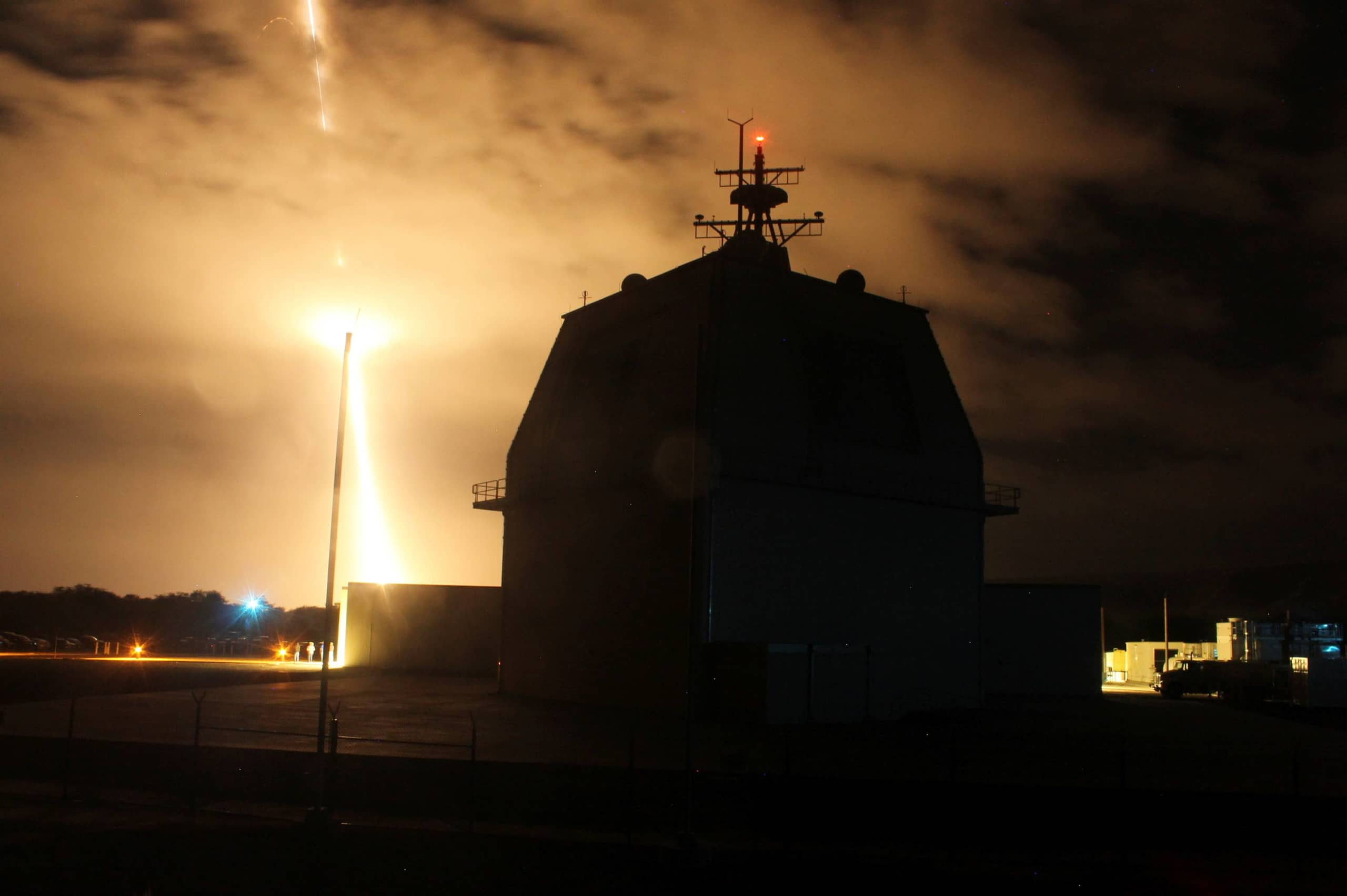 Raytheon is lobbying lawmakers in Japan to replace Lockheed Martin Corp. as the supplier for powerful new radar systems, as Tokyo reconsiders plans for two Aegis Ashore missile defense sites. | U.S. MISSILE DEFENSE AGENCY / VIA REUTERS
