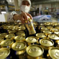In terms of volume, Suntory sales fell 11 percent in the January-June period from a year earlier. | REUTERS