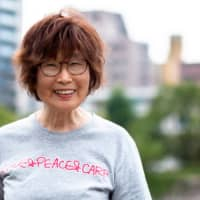 Keiko Ogura, 83, survived the bombing of Hiroshima at age 8. | PETER CHORDAS