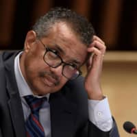 World Health Organization Director-General Tedros Adhanom Ghebreyesus said Friday that the effects of the coronavirus pandemic will be felt for decades to come.  | POOL / VIA REUTERS
