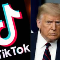 U.S. President Donald Trump has pledged to get tough on TikTok, which U.S. officials have said could be a tool for Chinese intelligence — a claim the firm, owned by Chinese internet giant ByteDance, has repeatedly denied. | AFP-JIJI