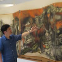 Saitama gallery raises money online to share iconic A-bomb paintings worldwide