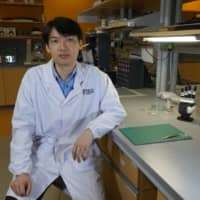 Dr. Benjamin Tee, assistant professor of materials science and engineering at the National University of Singapore (NUS), sits for an interview on July 27.  | REUTERS
