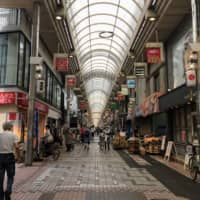 The shōtengai at Musashi Koyama in Shinagawa Ward is the longest covered shopping arcade in Tokyo. | REBECCA SAUNDERS