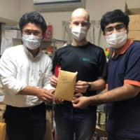Indian student rallies friends to raise more than ¥500,000 for Foodbank Sendai