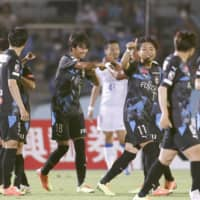Frontale wins 8th straight as Kaoru Mitoma scores in 1st J1 start