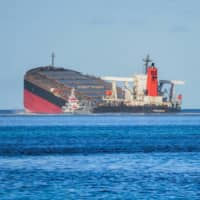 The Japanese firms tied to the oil spill off Mauritius