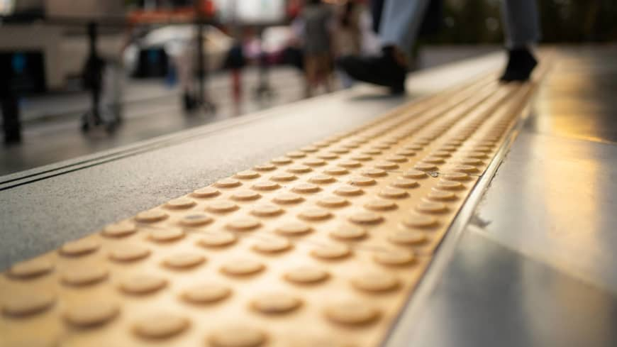 Yellow brick roads: How Japan's tactile paving aids solo travel
