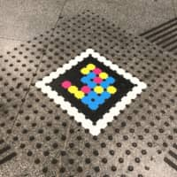 New technology produced by Madrid-based enterprise NaviLens uses a colorful marker based on a QR code to provide audible information to visually impaired people without the use of GPS or Bluetooth. | COURTESY OF NAVILENS
