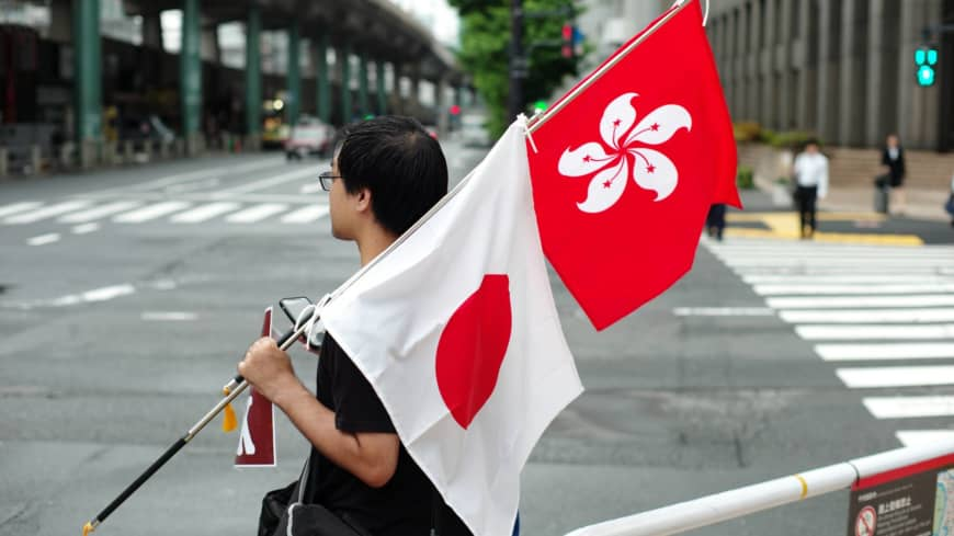 Long arm of China's security law alarms Hong Kongers in Japan