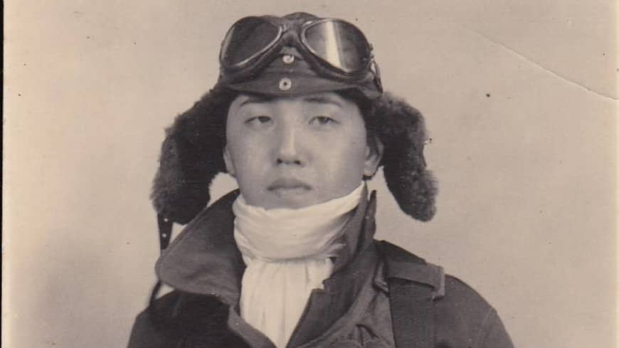Earning his wings: Kazuo Odachi's childhood fascination with flying led him to join Yokaren, an elite program for navy pilots.