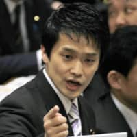 Junya Ogawa, an opposition Diet member from Kagawa Prefecture, has been known to deliver fiery speeches in the Lower House. | KYODO