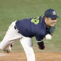 Yasuhiro Ogawa's no-hitter provides major lift for Swallows pitching staff