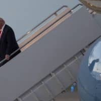 As he began barnstorming battleground states Monday to try to steal a little attention from the Democratic National Convention, U.S. President Donald Trump repeated his use of incendiary terms in attacking Sen. Kamala Harris, the designated vice presidential candidate.   AP