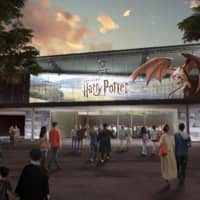 An artist's rendering of The Making of Harry Potter at Warner Bros. Studio Tour Tokyo | 'WIZARDING WORLD' AND ALL RELATED NAMES, CHARACTERS AND INDICIA ARE TRADEMARKS OF AND © WARNER BROS. ENTERTAINMENT INC. – WIZARDING WORLD PUBLISHING RIGHTS © J.K. ROWLING.