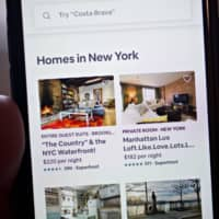 Airbnb's recovery from the coronavirus pandemic has been faster than expected, with results in June showing bookings down only 30 percent from 2019. | BLOOMBERG