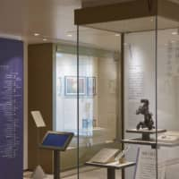 A room dedicated to Seiko founder Kintaro Hattori can be found on the second floor of the museum. Some pocket watches damaged in the Great Kanto Earthquake are also on display.    | SEIKO HOLDINGS CORP.