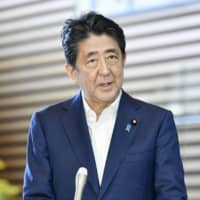 Man in question: 'The Iconoclast' delves into the roots of Prime Minister Shinzo Abe's political philosophy and the legacy he will leave behind. | KYODO