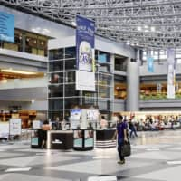New Chitose Airport in Hokkaido appears mostly empty during the Bon holidays earlier this month.   KYODO