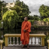 Threatened by Facebook disinformation, a Buddhist monk flees Cambodia