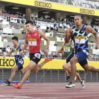 Centerpiece Tokyo 2020 venue put through paces in debut track meet
