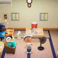 The Tokyo Fire Department's Twitter account shows an image set in Nintendo Co.'s popular game Animal Crossing: New Horizons to call on people to use cooling devices to avoid heat-related illnesses.   KYODO