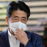 Prime Minister Shinzo Abe will consult with doctors before holding a news conference on Friday, according to sources. | AFP-JIJI